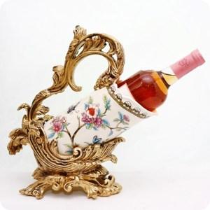 HONEY COMB 陶瓷冰裂紋紅酒架 ED42