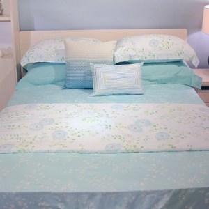 HOLA home綠野莫代爾床包枕套組 加大