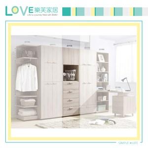 【LOVE樂芙】瓦珊蒂2尺四抽衣櫥