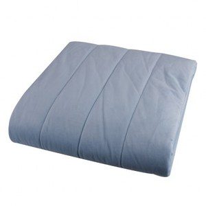 HOLA home Super Hot 發熱水晶絨防潑水保暖墊 雙人 藍
