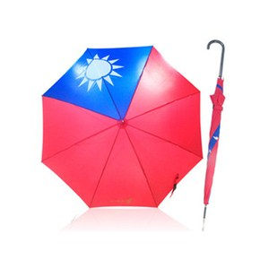 直立式國旗自動傘