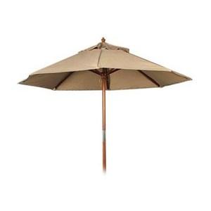 九尺 8 骨木傘-卡其色 表面防潑水處理 POLY布