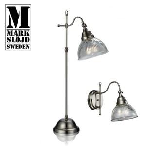 【Markslojd】ASNEN 桌燈玻璃鐵座復古桌燈