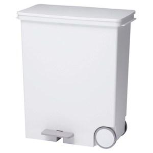 【日本Like it】橫向式分類垃圾桶 33L-純白色