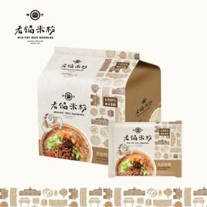 [特價]老鍋米粉.純米香菇肉燥風味湯米粉家庭包(4包袋,共2袋)
