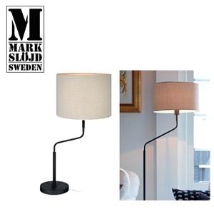 【Markslojd】MANHATTAN 曼哈頓桌燈 灰底座米白燈罩灰底座米白燈罩