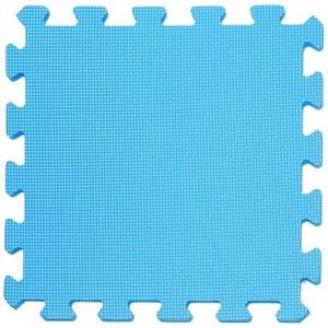 抗菌地墊32x32x1cm 深海藍6P