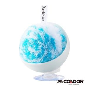日本山崎小海豹洗手台清潔球(藍)