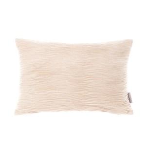 HOLA 凱特壓皺抱枕30x45cm 浪紋米