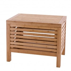 HOLA home伊澤竹製收納凳