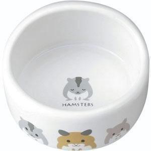 MARUKAN 陶瓷加高鼠食碗 ES-17 x 1入