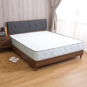 【YFS】瑪莉提五星級款-歐式緹花Q彈雙人加大6尺國民獨立筒床墊