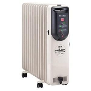 【嘉儀 HELLER】12 葉片電子式恆溫電暖爐 KED-512T