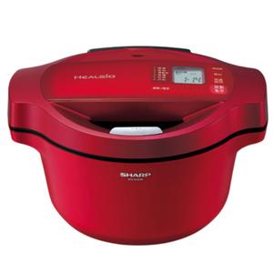 【SHARP夏普】1.6L 0水鍋/紅 KN-H16TA