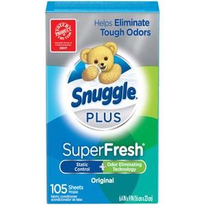 美國 Snuggle 多用途芳香片-超極清新(105片)*2盒