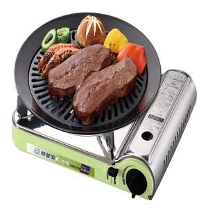 妙管家不鏽鋼瓦斯爐附不沾烤盤