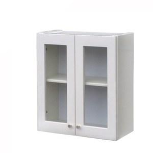 抗菌雙門防水浴櫃-白色