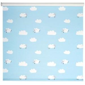 雲朵遮光捲簾 寬90x高180cm