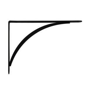 """裝飾型板托6.5""""*9"""",黑色一入 適用層板 深20公分"""