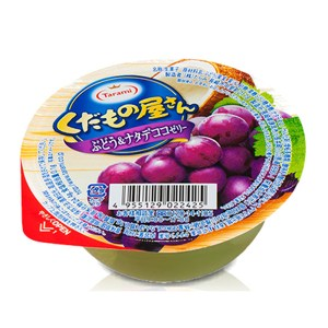 日本TARAMI水果屋果凍葡萄椰果160g