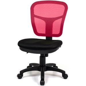 aaronation愛倫國度 耐用型舒適透氣小秘書電腦椅 i-RS-1紅