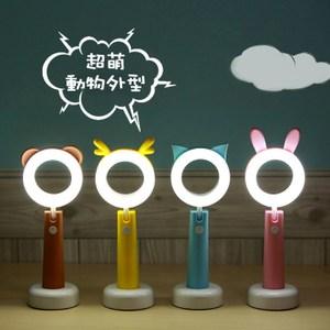 【光寵檯燈】LED動物造型檯燈(藍色貓)