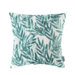 HOLA 貝絲印花抱枕45x45cm 竹葉綠