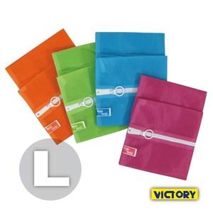 【VICTORY】彩色洗衣袋 L 50x60cm(4入組)