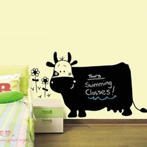 可愛乳牛造型黑板貼 60x90CM WTB-784