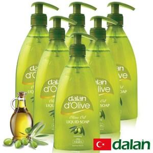 【土耳其dalan】頂級橄欖油液體香皂 6 入