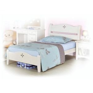 【YFS】亞伯3.5尺白色單人床架-109x203x96cm