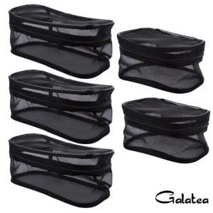 GALATEA葛拉蒂可透視收納網格袋5入組3長2方