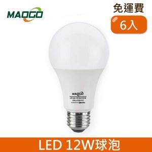 HONEY COMB Maogo LED12W廣角度球泡6入 TB812W-06 / 白光