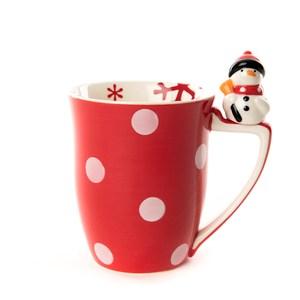 HOLA 耶誕派對馬克杯 雪人