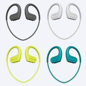 SONY 4GB 時尚藍芽運動無線隨身聽 NW-WS623(野檸綠)