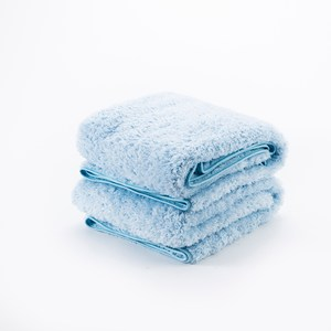 HOLA 超細纖維浴巾二入組藍