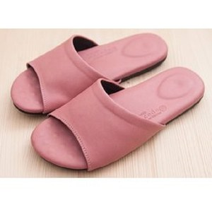 (e鞋院)健康機能乳膠拖鞋-粉粉24.5CM
