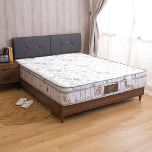 【YFS】瑪莉提飯店星級款-歐式緹花高回彈正三線硬式單人3尺獨立筒床墊