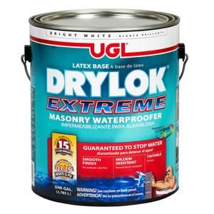 UGL DRYLOK EXTREME 15年水性乳膠護壁負水壓防水塗料 1L