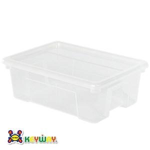 KEYWAY 4號易利掀蓋整理箱 9.5L KZ-004 27.3x38.4x13.5cm