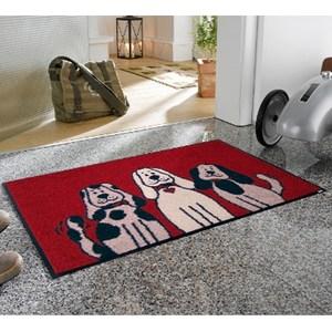 kleentex居家設計地墊-Three dogs-50X75cm