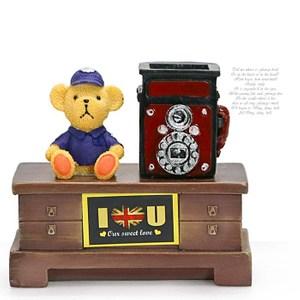 HONEY COMB 日式復古電報小熊擺飾/裝飾 GZ31