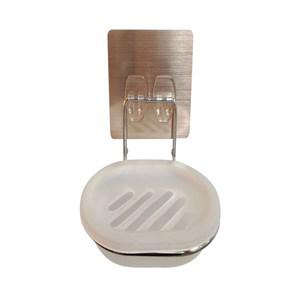 豪享貼不鏽鋼不滴水香皂架