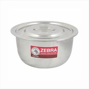ZEBRA斑馬牌不銹鋼調理湯鍋16cm可當內鍋平蓋設計