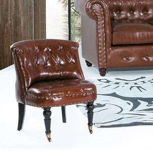 【YFS】布魯克美式休閒椅-52x39x74cm