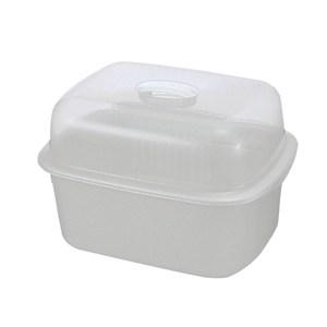 【Lustroware】日本進口抗菌碗籃附蓋(深型)