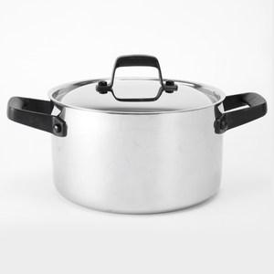 HOLA 316複合不鏽鋼雙耳湯鍋 22cm 3.5L