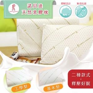 ROBERTA-獨家專利天然乳膠彈力透氣極致釋壓枕-1入基本型