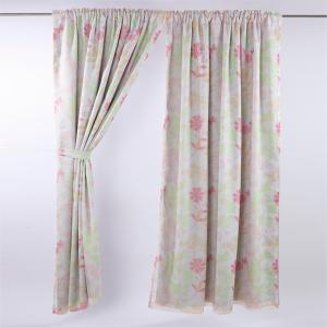 維也納印花雙層遮光窗簾 0.2x290x210cm