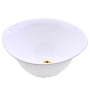 Richell 抗菌碗型籃 白
